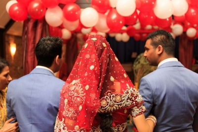 Bruid weggeven
