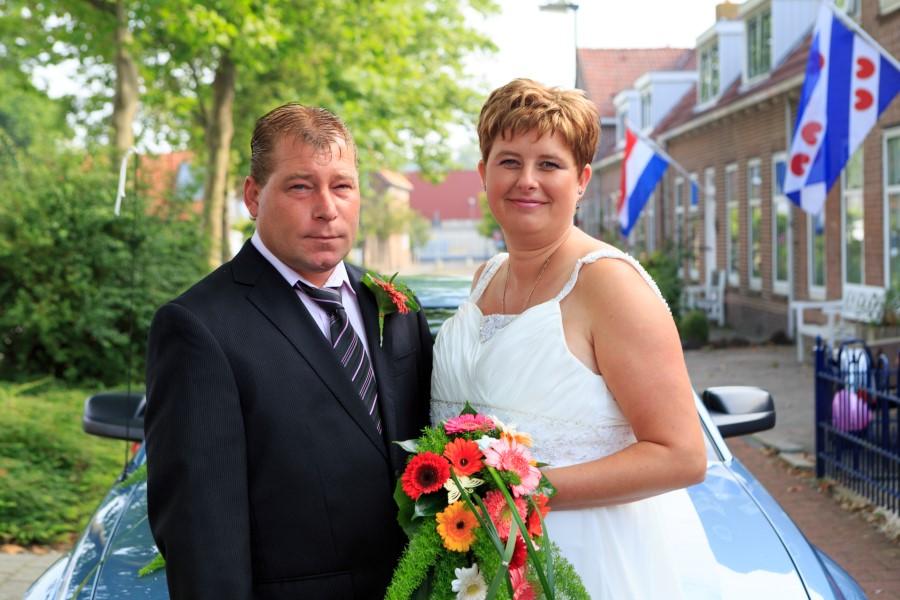 Portret bruidspaar