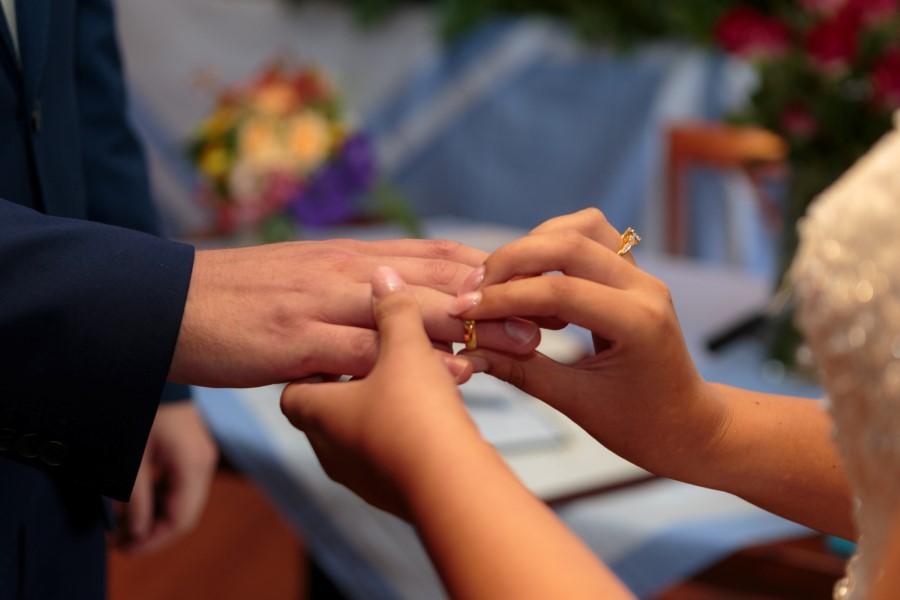 Ring aanschuiven vinger